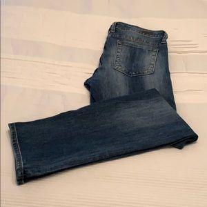 KUT Medium Wash Boyfriend Jeans